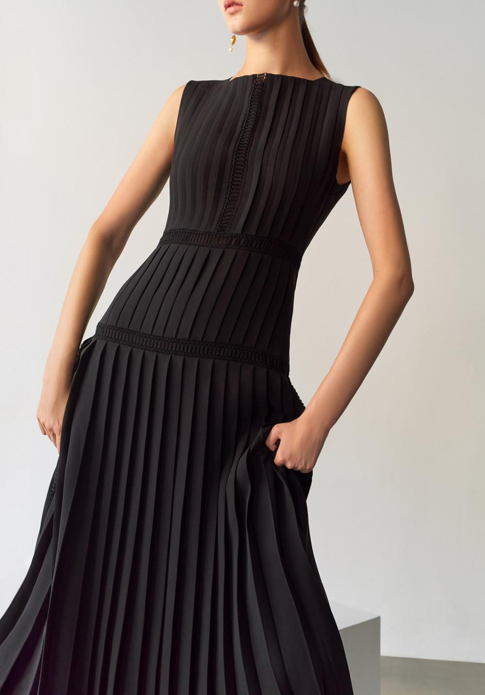 Icicle Women Styles Push Silk Dress