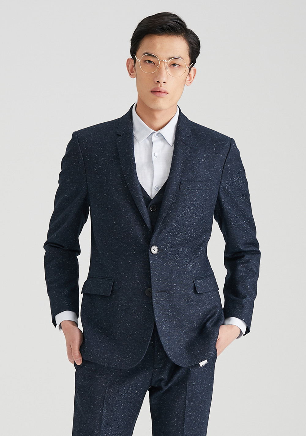 Icicle Men Iconic Half Lined Suit 01